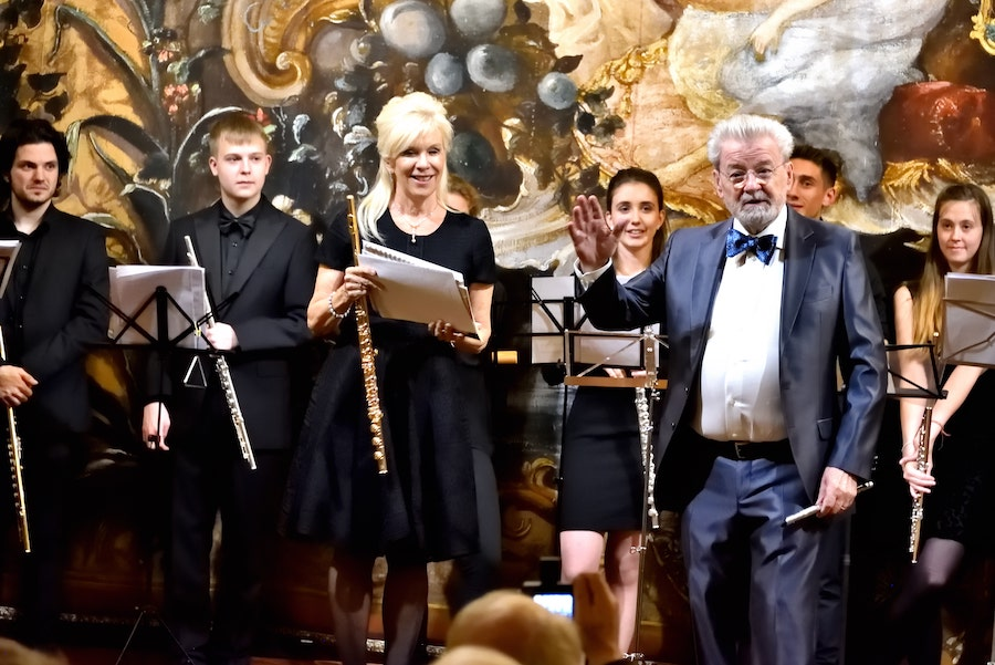 Sir James Galway and Lady Jeanne Galway – Flute