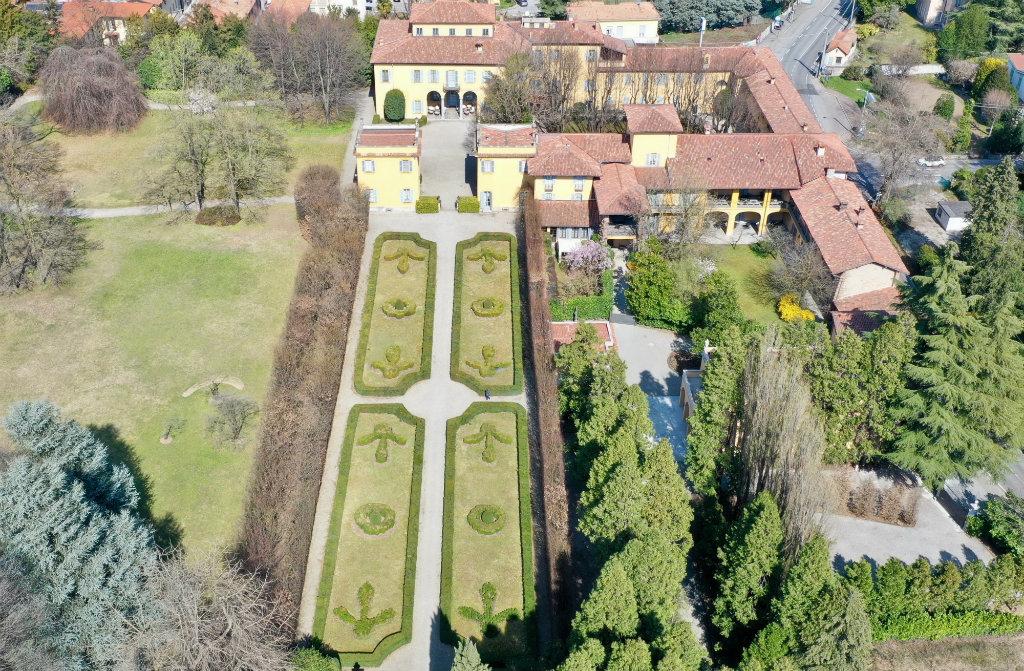Villa Medici Giulini - Il complesso architettonico