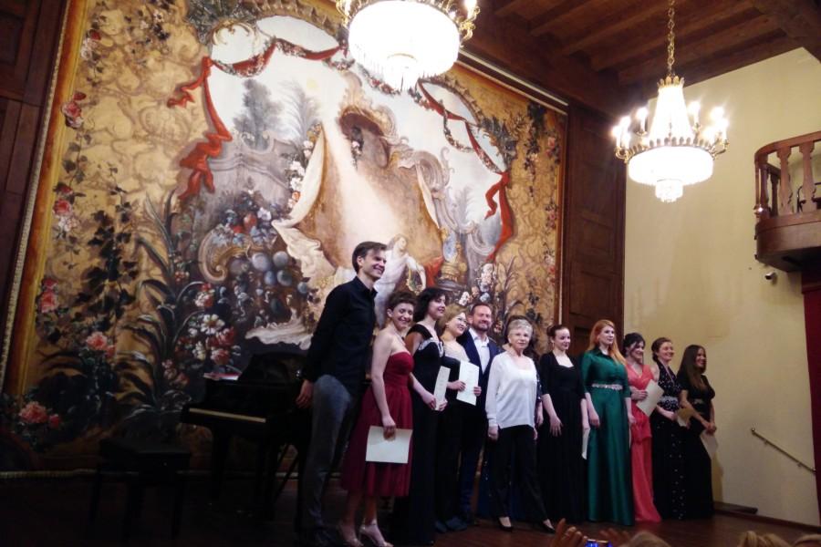 Final masterclass 2019 Devia in Villa Medici Giulini