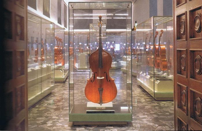 """La """"Sala degli onori"""", Museo del Violino, Cremona"""